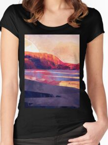 Table Mountain Women's Fitted Scoop T-Shirt