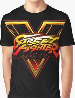 Street Fighter V - Logo Graphic T-Shirt