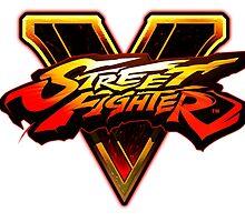 Street Fighter V - Logo by frictionqt