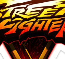 Street Fighter V - Logo Sticker