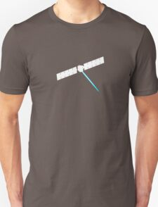 Riding on ions in the asteroid belt Unisex T-Shirt