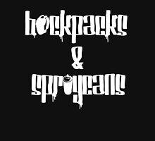 Backpacks&Spraycans Men's Baseball ¾ T-Shirt