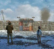 THE WALKING DEAD - TELLTALE GAMES - Digital Repaint by frictionqt