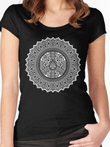 Peace Arabesque Women's Fitted Scoop T-Shirt
