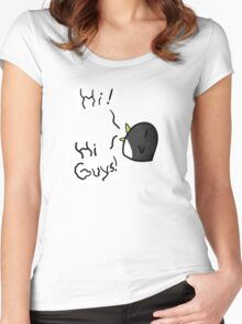 Earl the Penguin Tee Women's Fitted Scoop T-Shirt
