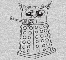 Dalek Owl Kids Tee