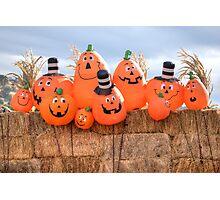 Pumpkin Brothers Photographic Print