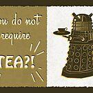 Dalek Tea Time by shardsofblue