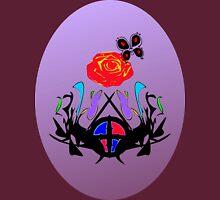 ை♠Vintage Royal Crest Clothing & Stickers&♠ை Womens Fitted T-Shirt