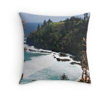 norfolk island scenery 2 Throw Pillow