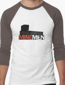 MineMen Men's Baseball ¾ T-Shirt