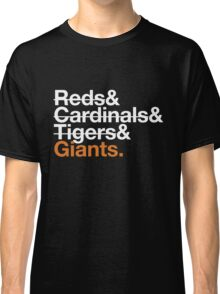 San Francisco Giants 2012 Opponents (Tigers) Classic T-Shirt