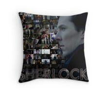 Sherlock BBC Screens Throw Pillow