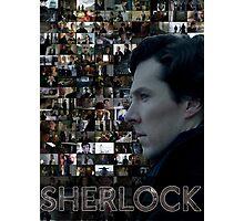 Sherlock BBC Screens Photographic Print