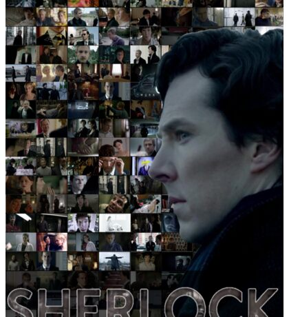 Sherlock BBC Screens Sticker