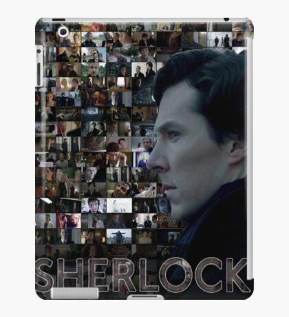 Sherlock BBC Screens iPad Case/Skin
