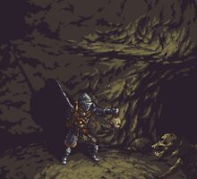 Pixel Tomb of the Giants by zedotagger
