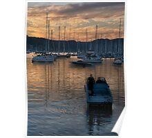 Anchors Rest (Portrait)- Newport, Sydney Australia - The HDR Experience Poster