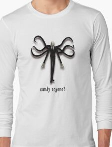 Slender Man, the Candy Man Long Sleeve T-Shirt