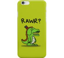 Dignified Dinosaur iPhone Case/Skin