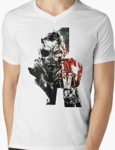 Metal Gear Solid V Mens V-Neck T-Shirt