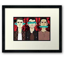 No Evil Framed Print