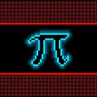 Neon Pi iPhone Case by TUKOM