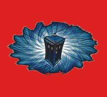 Dr Who - The Tardis Kids Tee