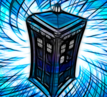 Dr Who - The Tardis Sticker