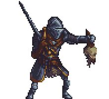 Pixel Elite Knight by zedotagger