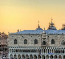 Early Evening Light in Piazza San Marco Sticker