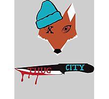 Thug City Slicks  Photographic Print