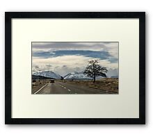 Road to Tekapo Framed Print