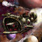 Starship Cruiser by Matt Bissett-Johnson