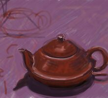 Terracotta Teapot by Visuddhi