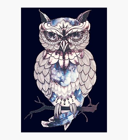 hoot hoot mofo Photographic Print