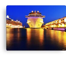 Celebrity Silhouette Canvas Print
