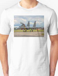 "Sukhoi Su-30MKI ""Flanker-F"" SB167 crewing in T-Shirt"