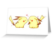 Pika Love Greeting Card