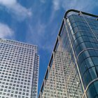 Sky Through Canary Wharf by Mark Chandler