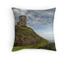 Mow Cop Castle, Biddulph  Throw Pillow