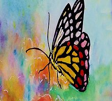 Song of Joy Butterfly IPhone by Robin Monroe