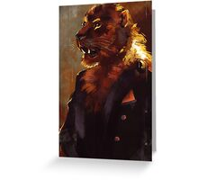 Dandy Lion Greeting Card