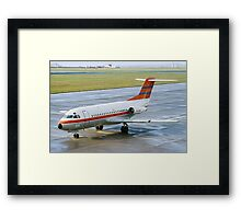 Fokker F28-1000 Fellowship PH-PBX Framed Print