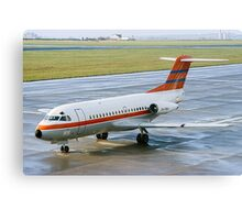 Fokker F28-1000 Fellowship PH-PBX Canvas Print