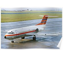 Fokker F28-1000 Fellowship PH-PBX Poster