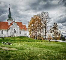 Autumn Church by Erik Brede