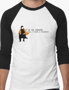 Sherlock Shock Blanket Men's Baseball ¾ T-Shirt