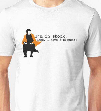 Sherlock Shock Blanket Unisex T-Shirt