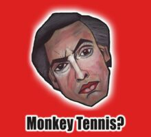 Monkey Tennis? - Alan Partridge Tee by YouRuddyGuys